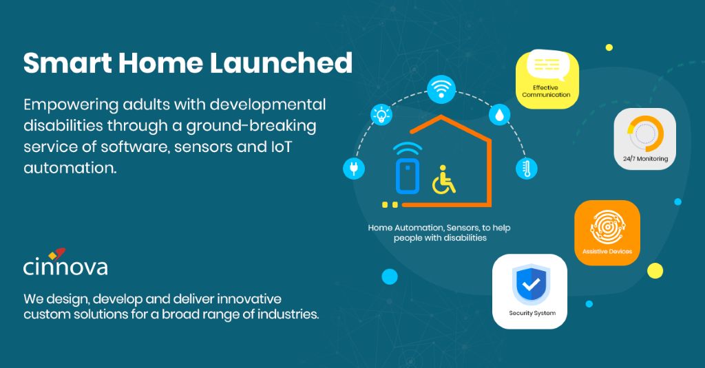 Cinnova is The Technology Partner for Smart Homes for Disabled